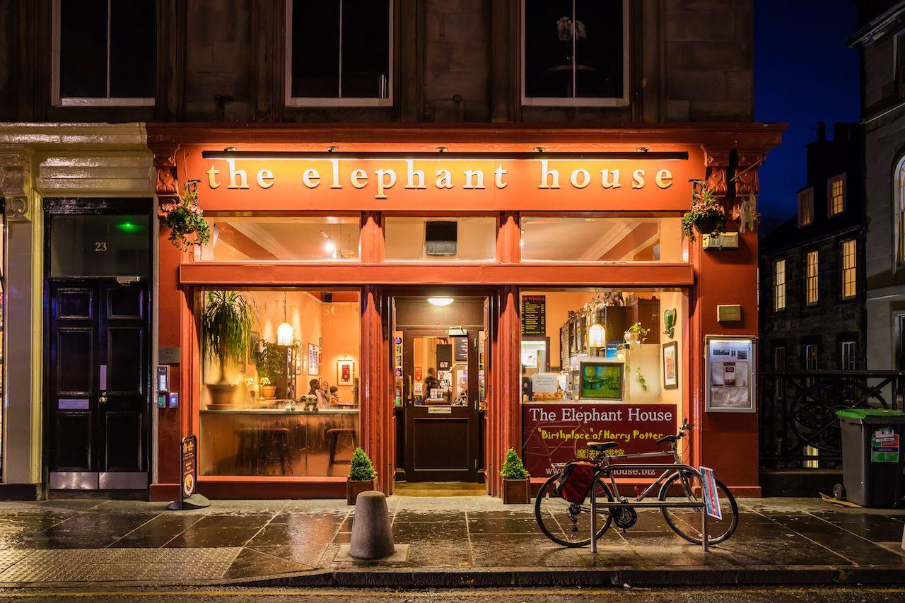The Elephant House cafe in Edinburgh, Scotland