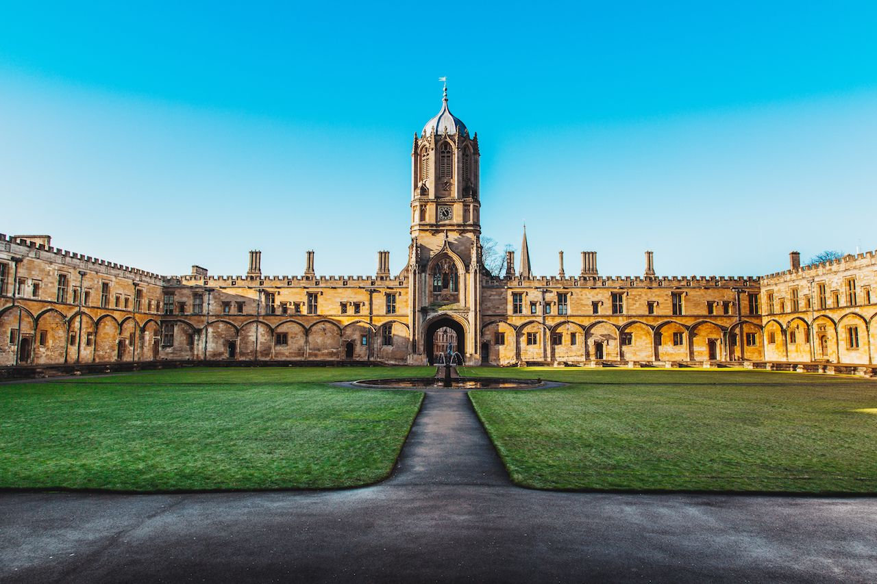 Tom Tower of Christ Church, Oxford University