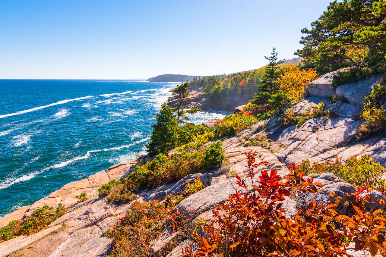 Where to camp in Maine this fall