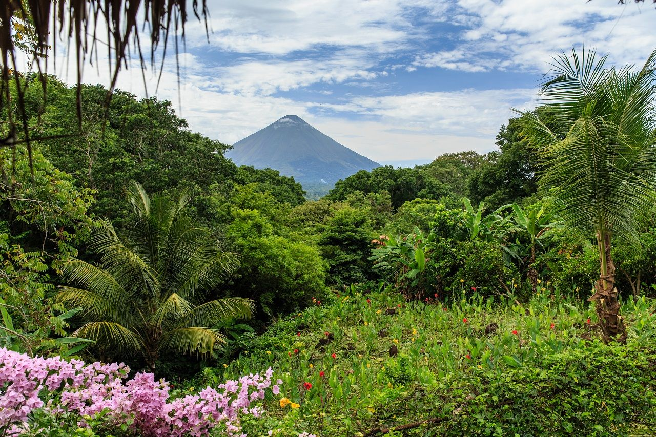 Volcano Concepcion on Ometepe Island in Nicaragua