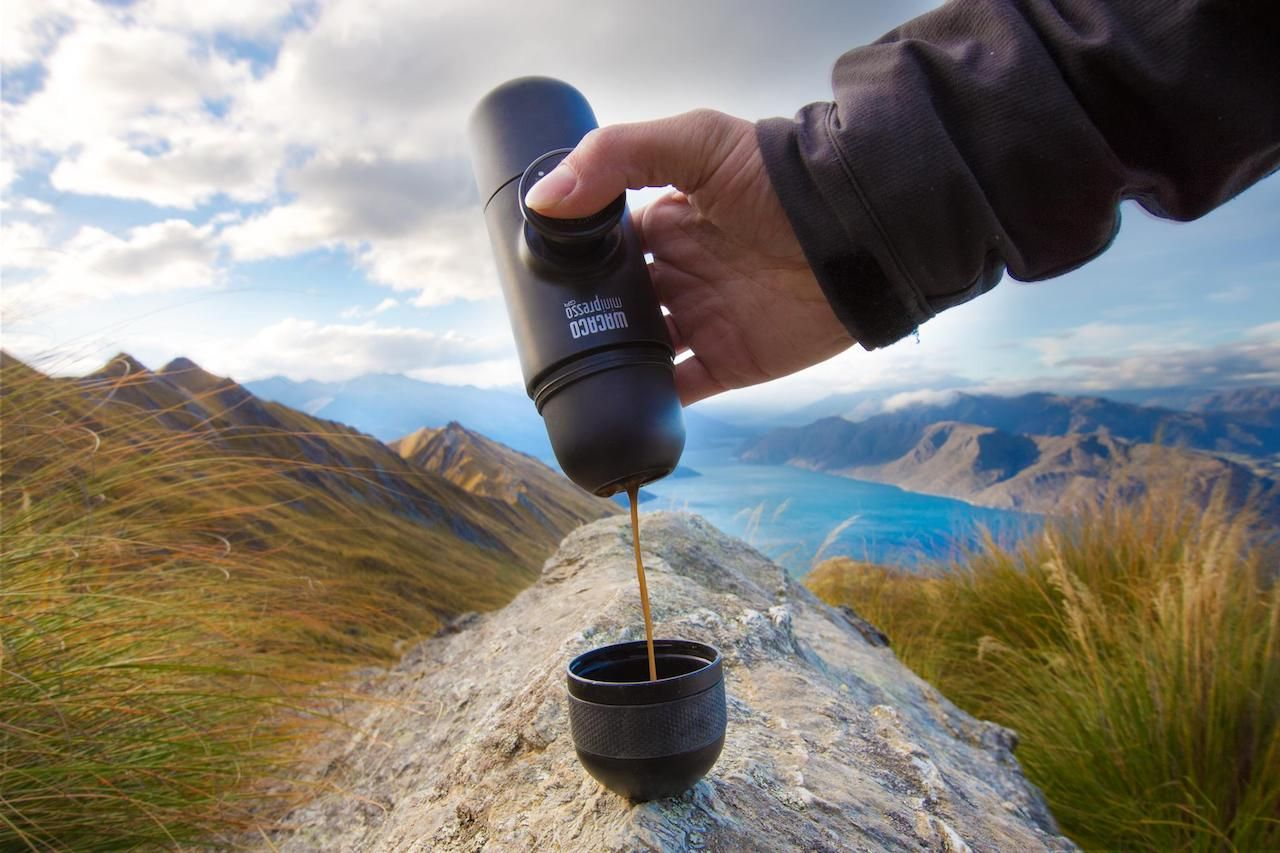 Wacaco hand-powered espresso maker