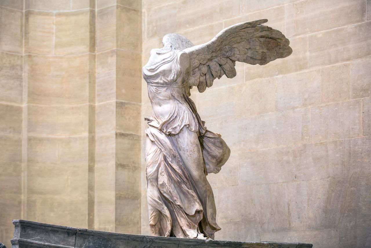 Winged Victory of Samothrace at the Louvre