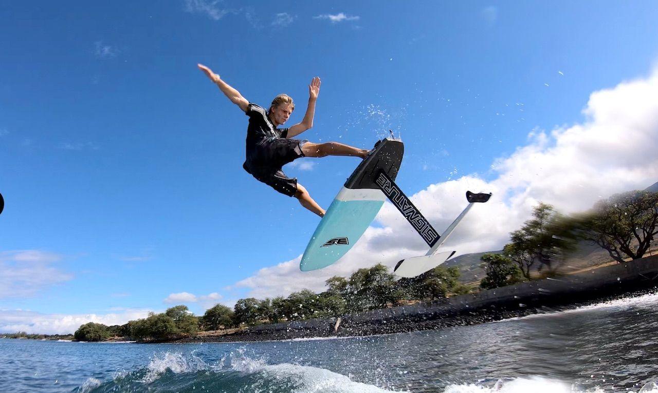 foil surfer