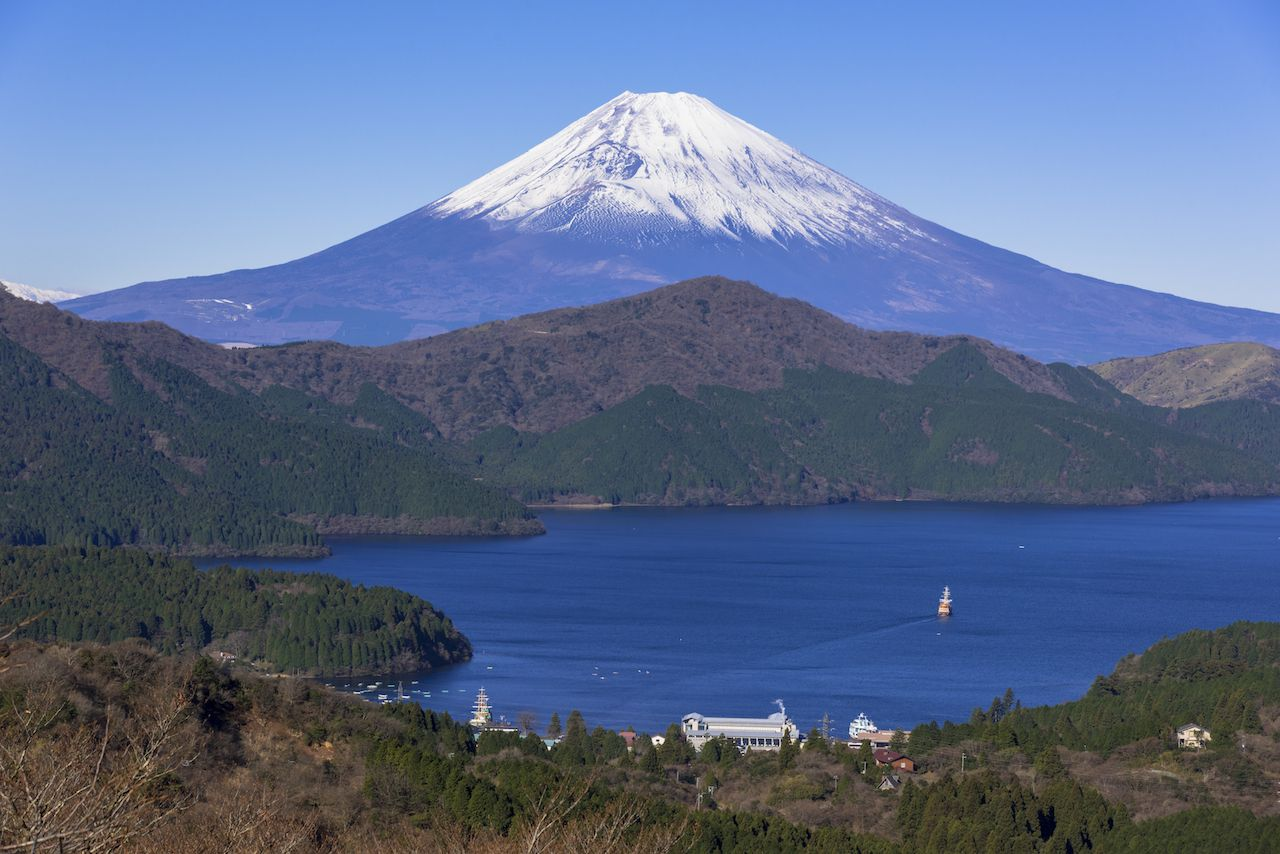 mt.fuji from hakone