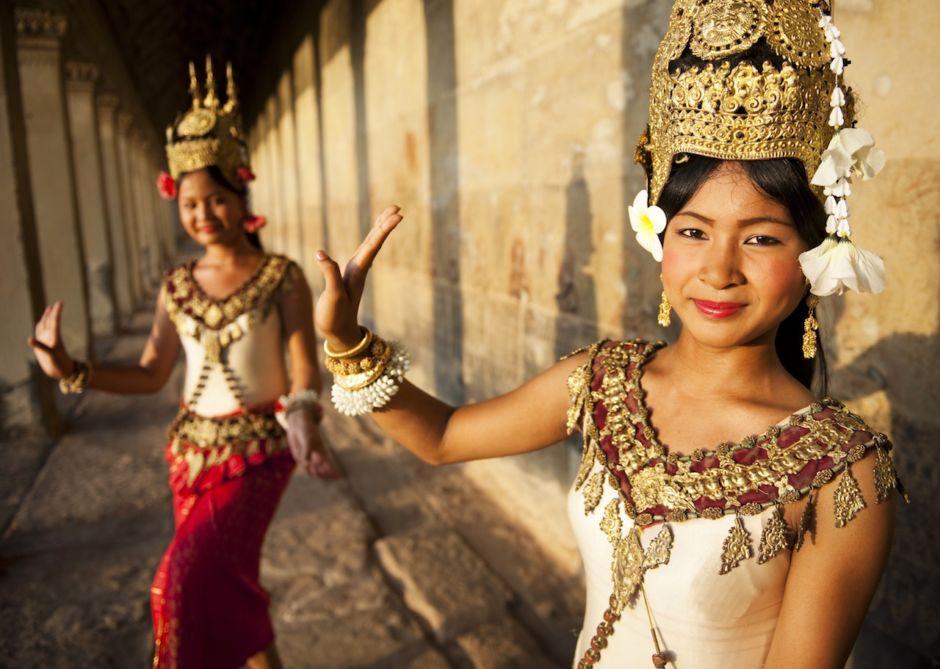 Apsara dancers Siem Reap Cambodia
