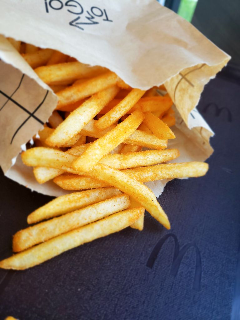 BBQ McShaker fries from McDonald's Malaysia