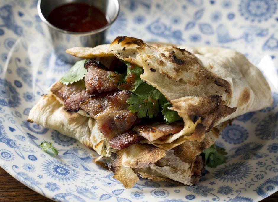 Bacon nan dishoom Lodon food