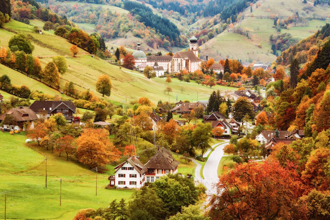 Black Forest, Germany, in autumn