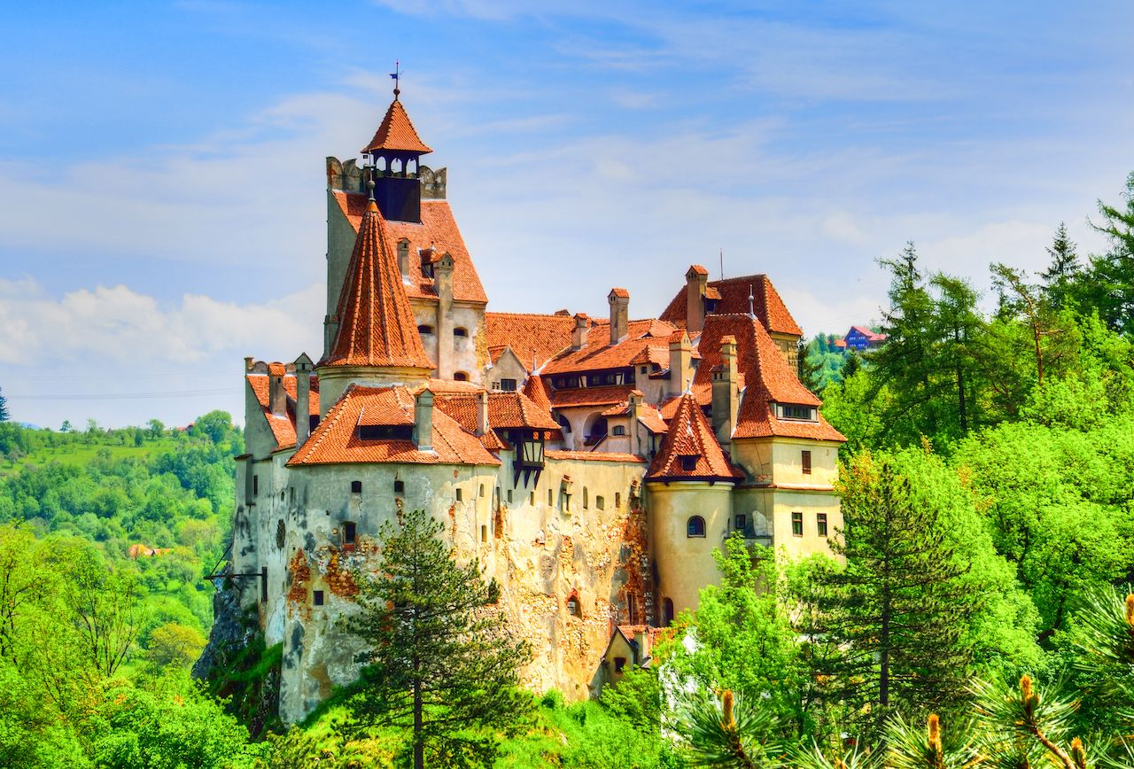 Bran (Dracula) Castle in Translyvania, Romania