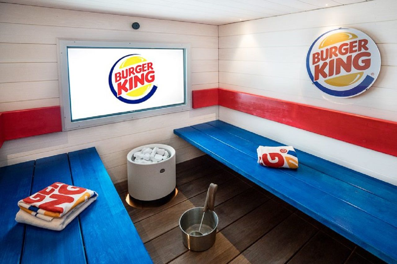 Burger King spa in Helsinki Finland