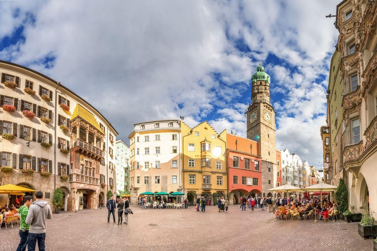 Downtown Inssbruck Austria