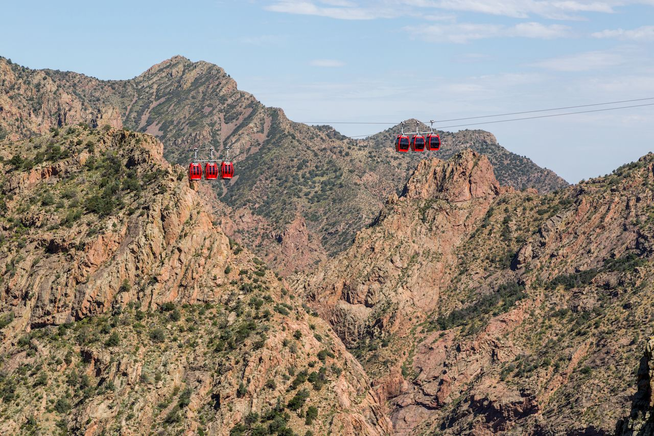 Gondola ride over Colorado's Royal Gorge