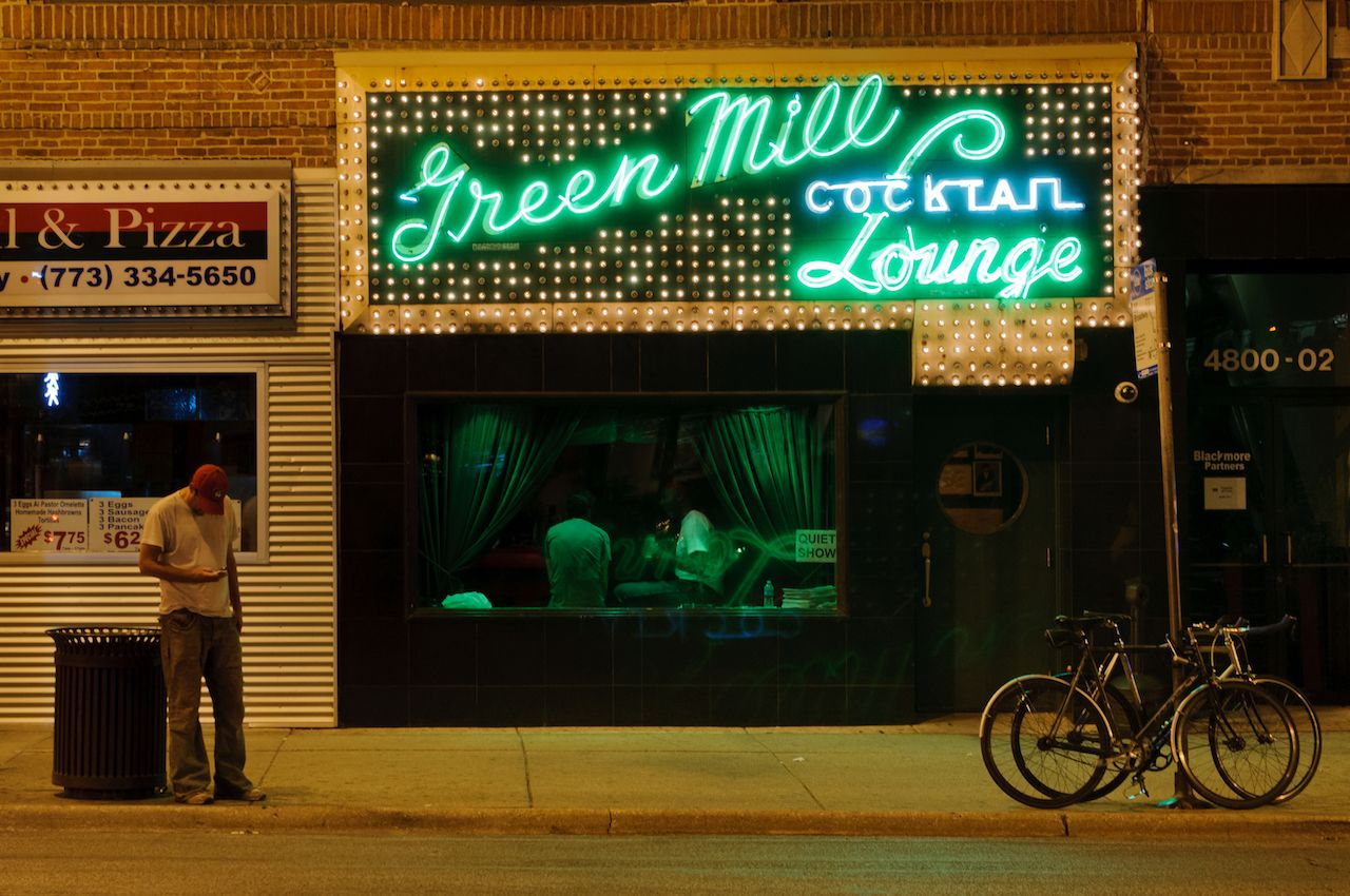 Green Mill Cocktail Lounge in Chicago, Illinois