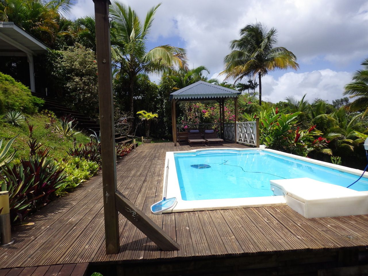 Guadeloupe Airbnb with a private pool