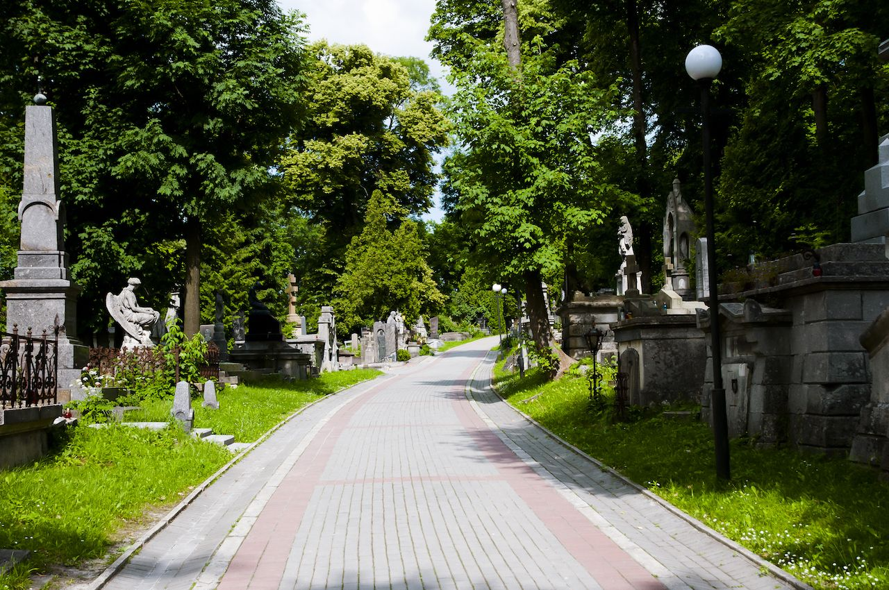 Historic Lychakiv Cemetery, Lviv, Ukraine
