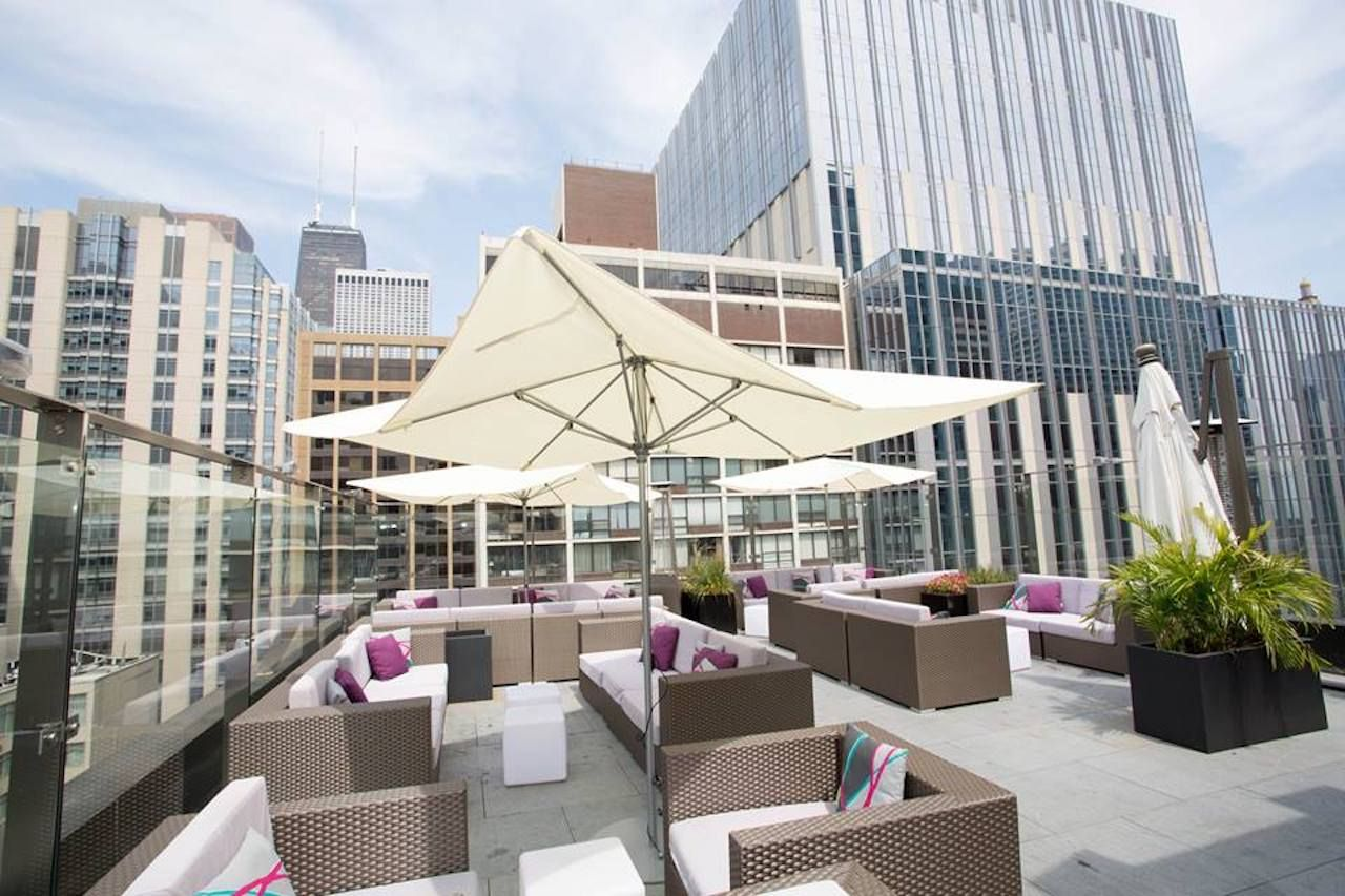 IVY Hotel rooftop terrace