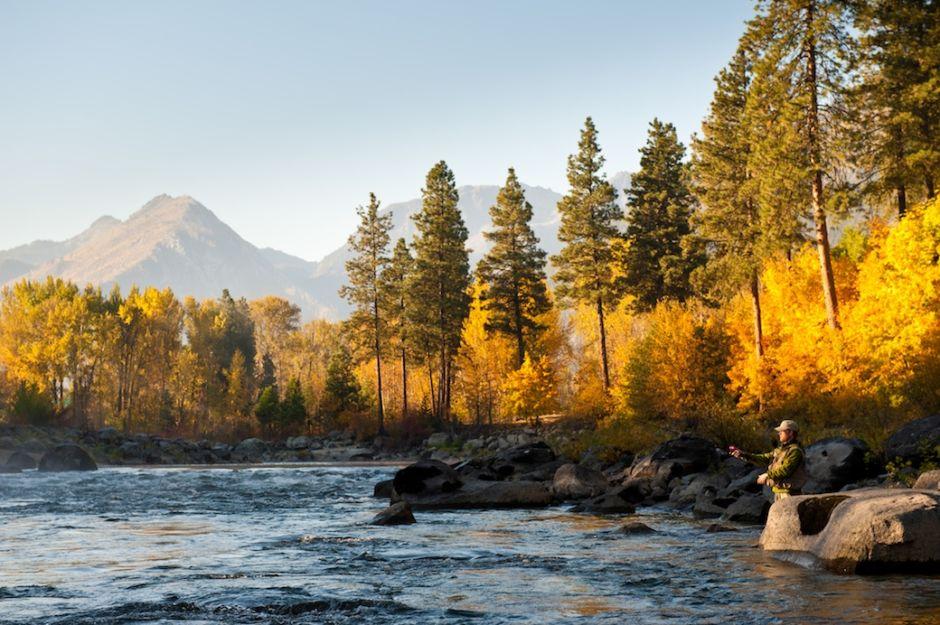 Leavenworth Wenathcee river fall