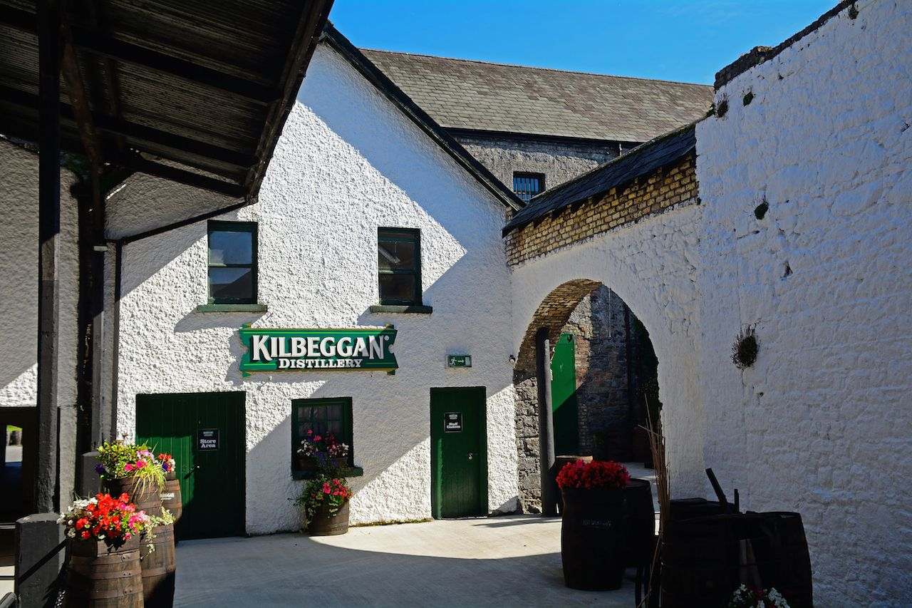 Kilbeggan whiskey distillery in Ireland