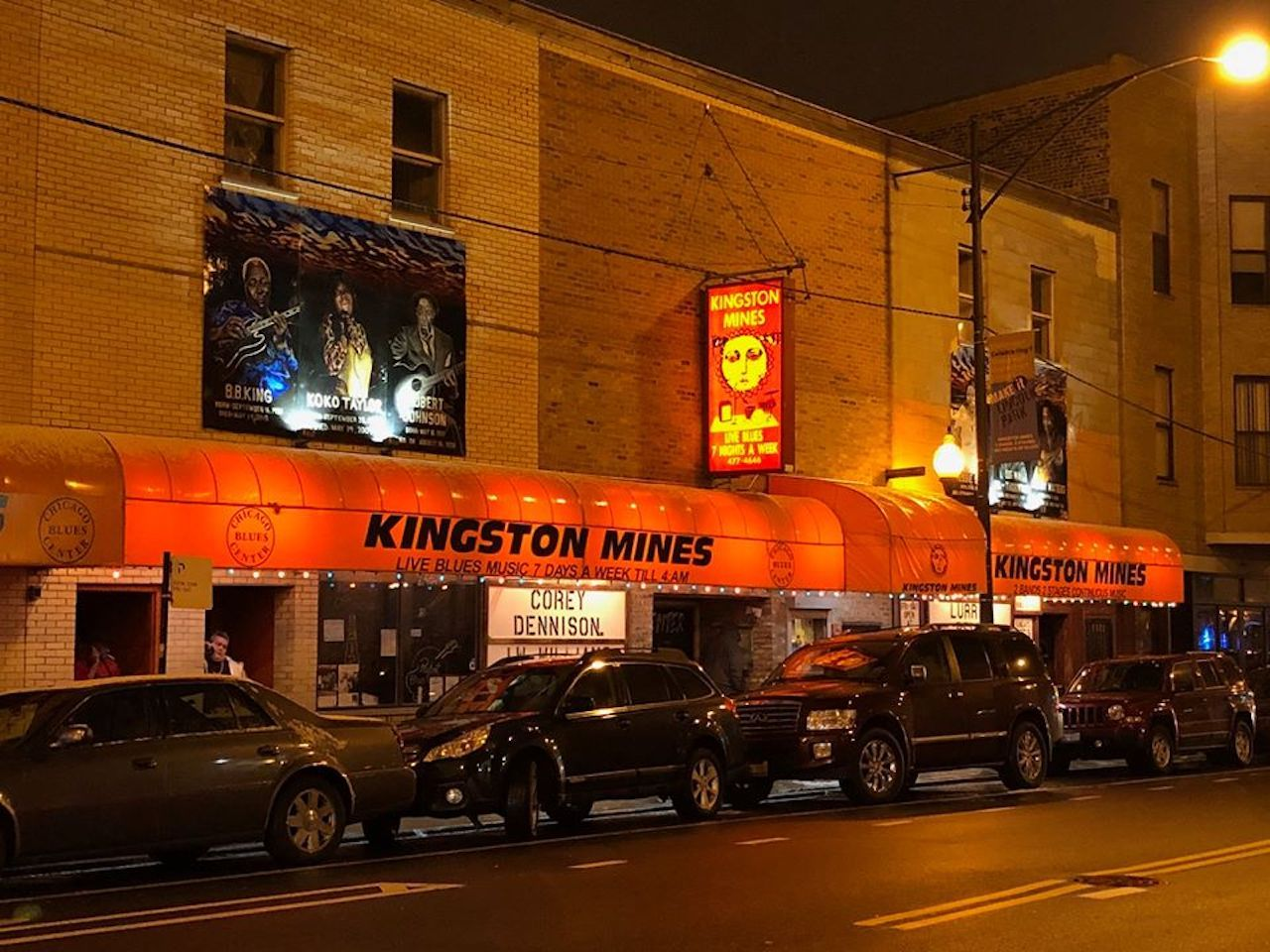 Kingston Mines music venue in Chicago