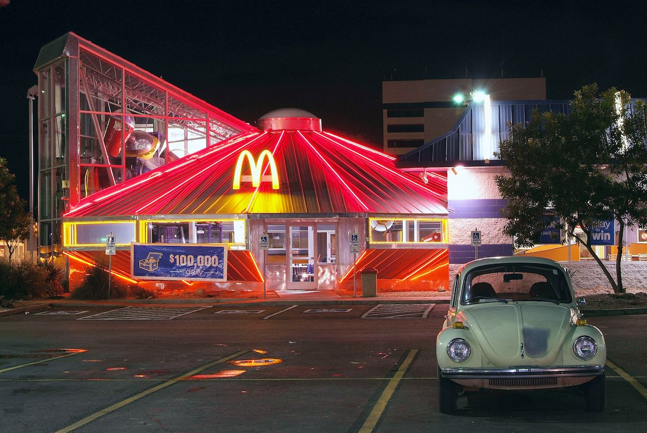 McDonald's Restaurant in Roswell, New Mexico