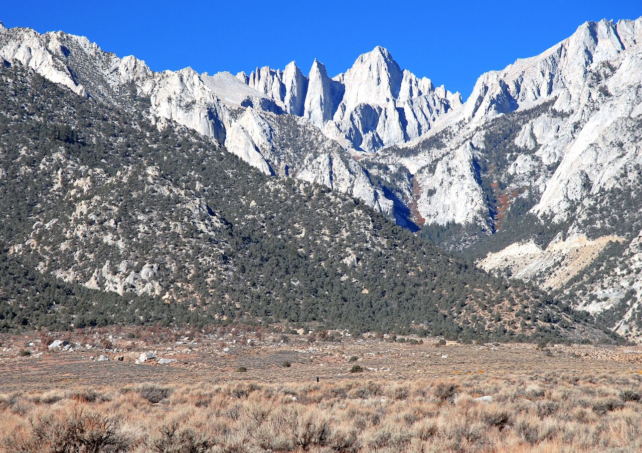 Mount Whitney, State High Point, Sierra Nevada Mountains, California