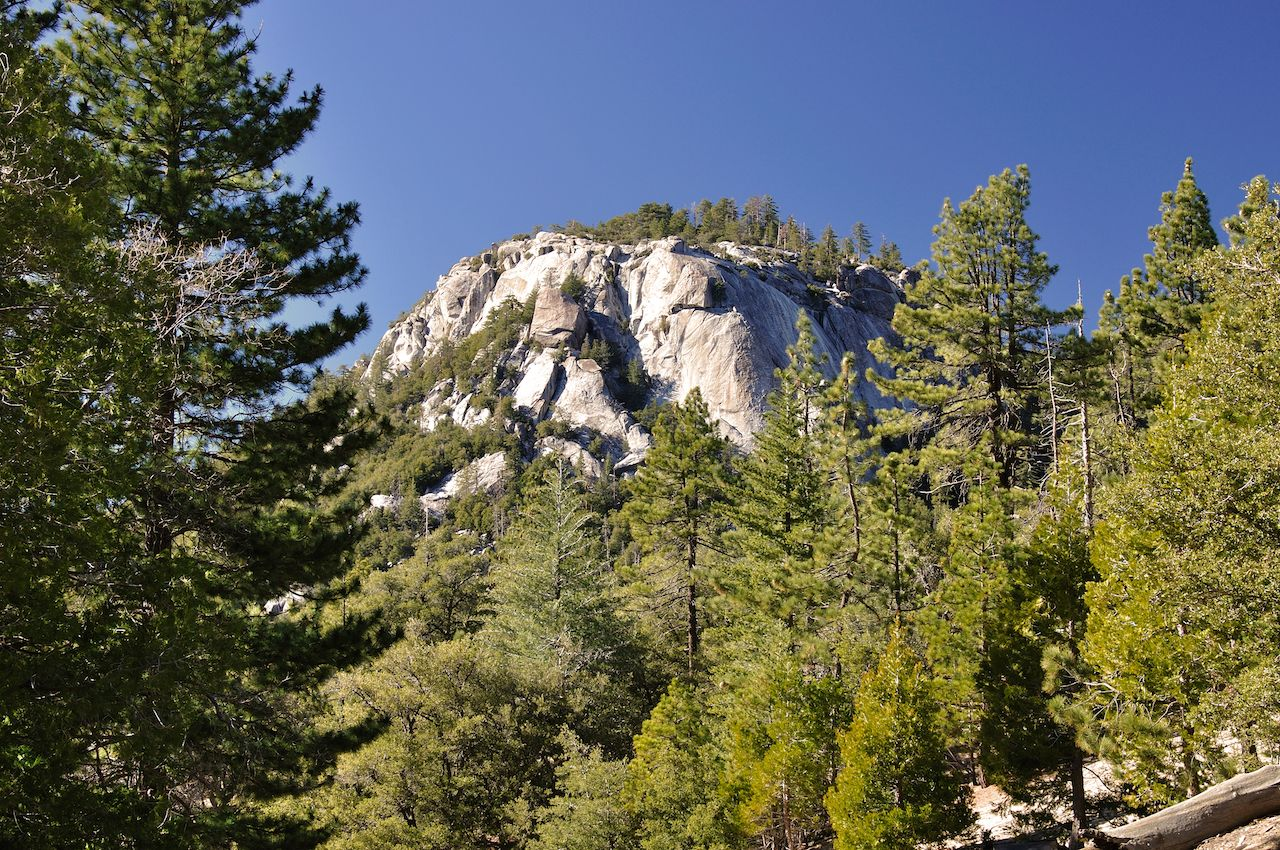 Mt. San Jacinto granite peaks