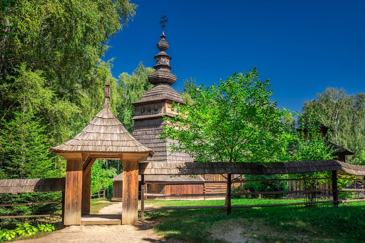 Museum of Folk Architecture and Rural Life in Lviv, Ukraine