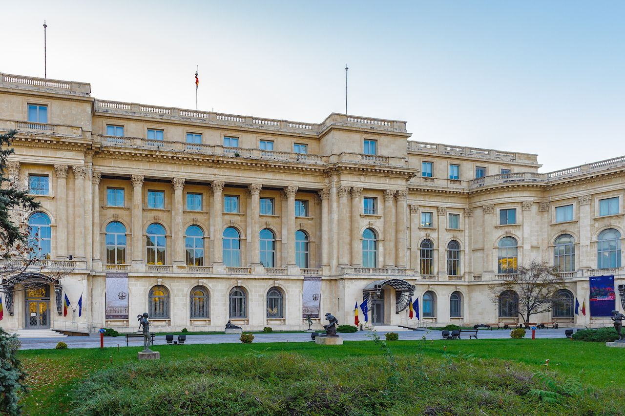 National Museum of Art of Romania, Bucharest, Romania