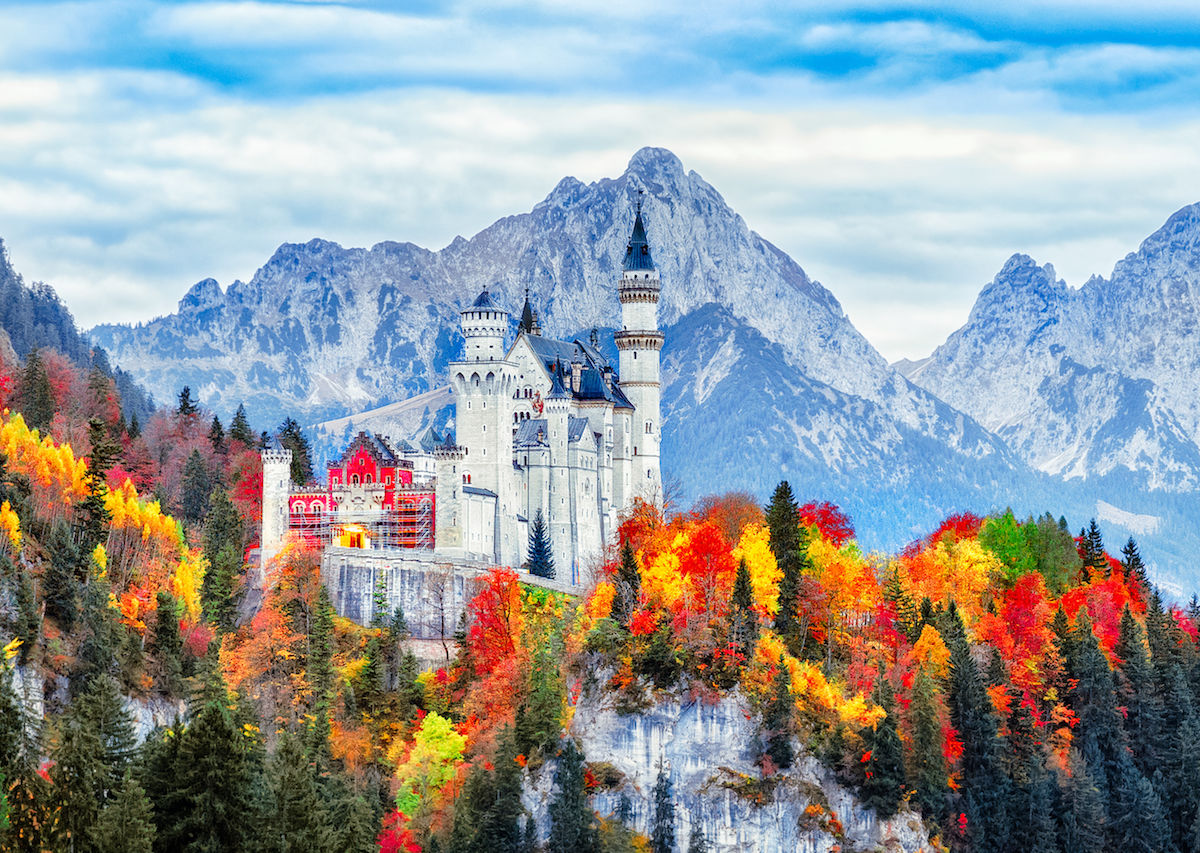 The most scenic drives through Europe in the fall