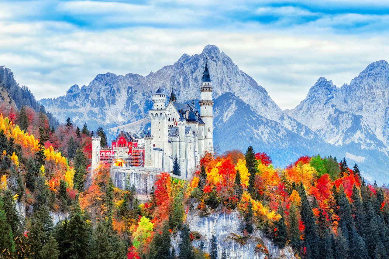 Best drives through Europe in fall