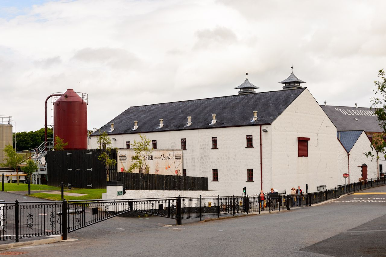 Old Bushmills Whiskey Distillery in Ireland