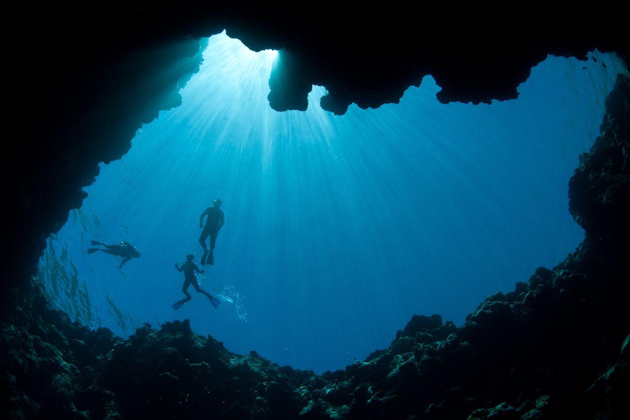 Palau Blue Hole