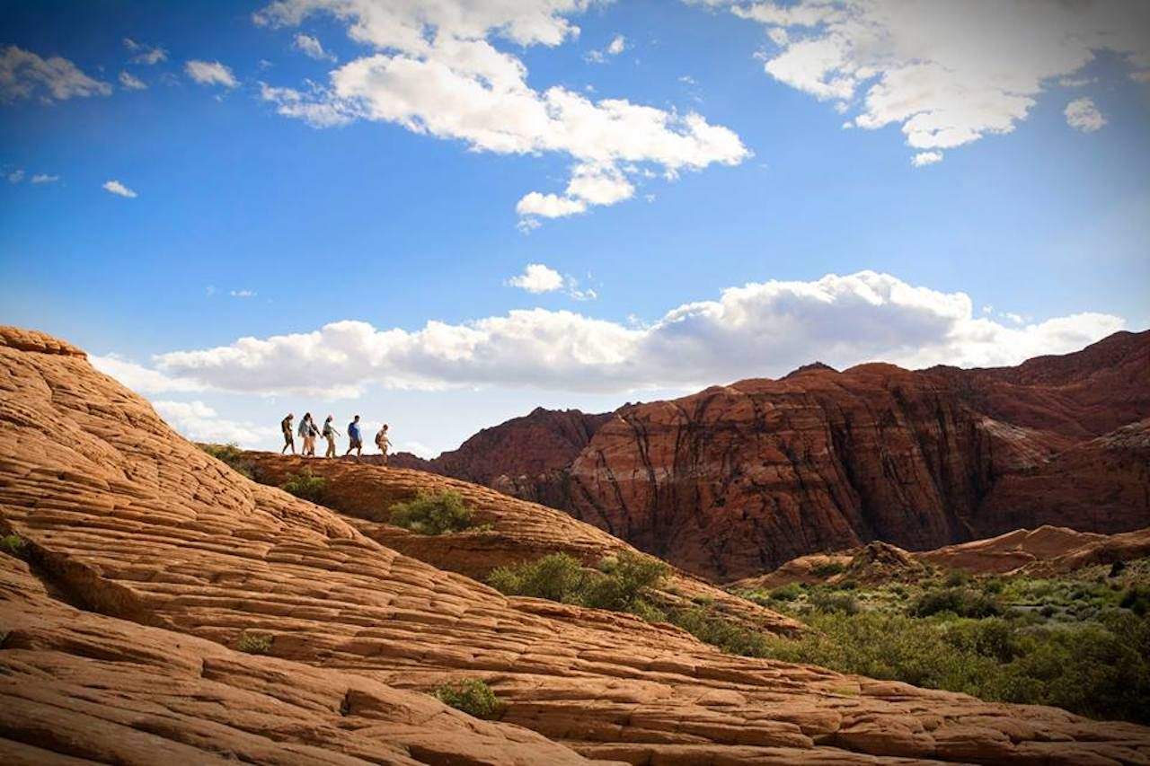 Red Mountain Resort fitness retreat hosts hikers in red-rock canyons