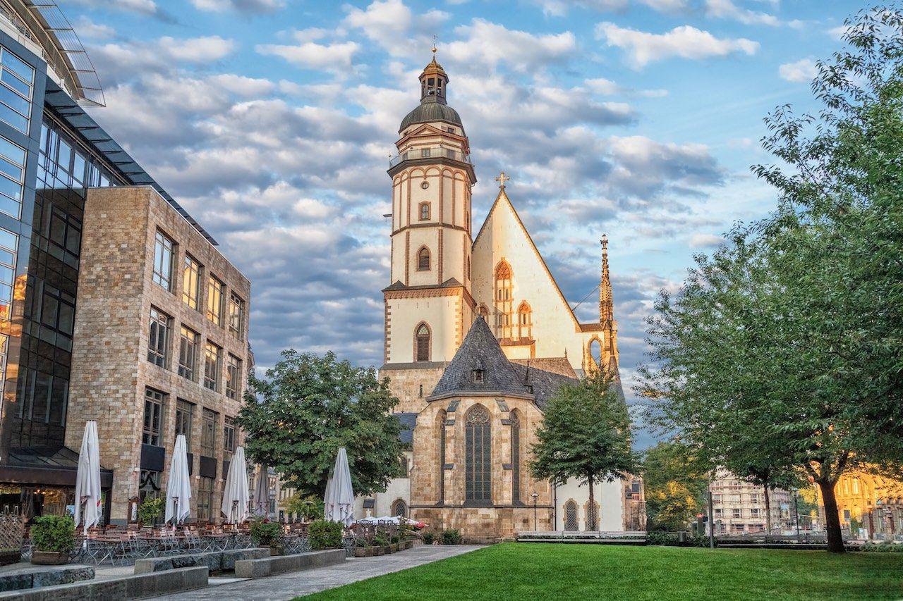 Saint Thomas Church Leipzig Germany