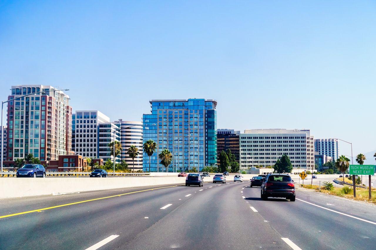 San Jose, CA, skyline