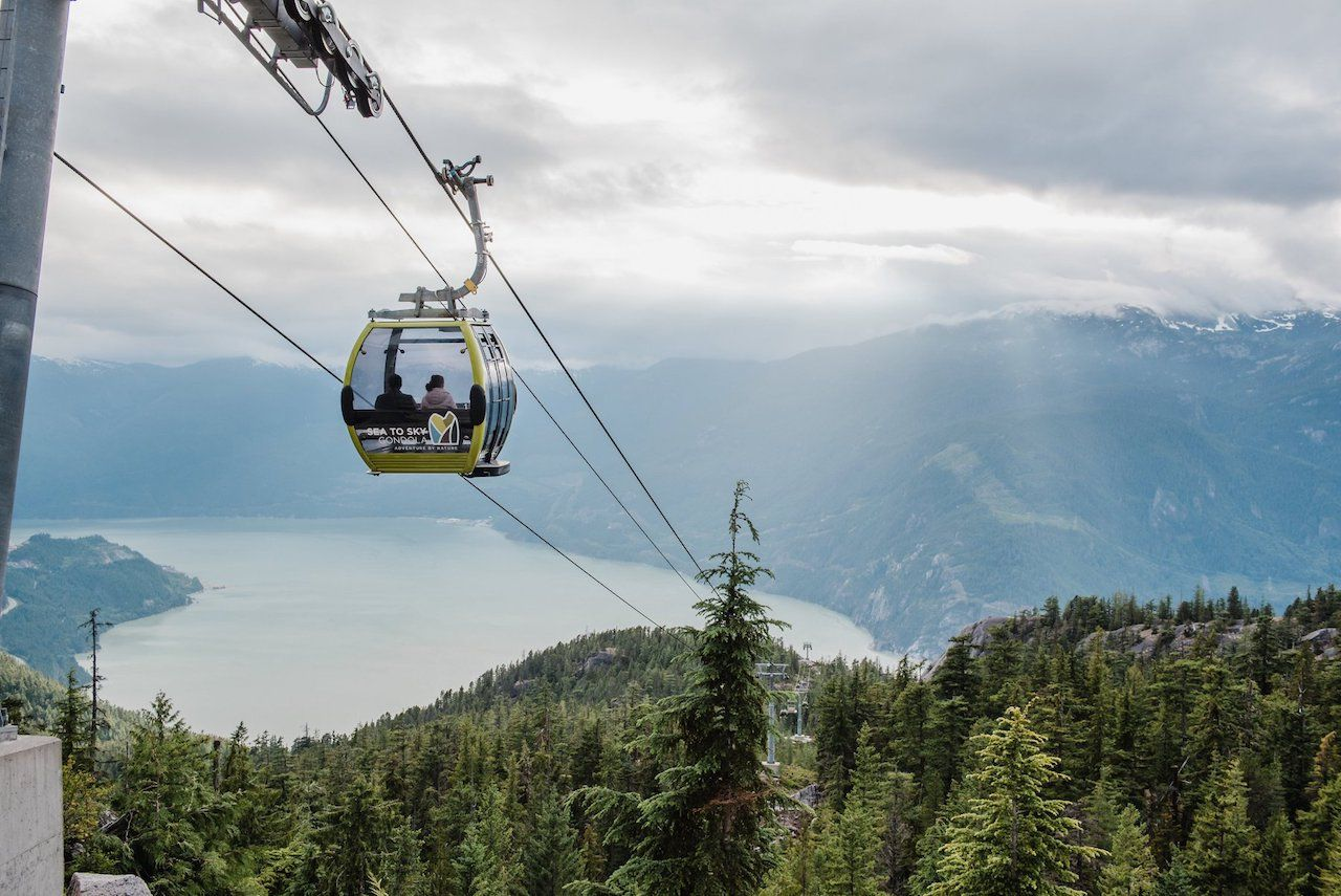 Sea to Sky Gondola in Vancouver, Canada