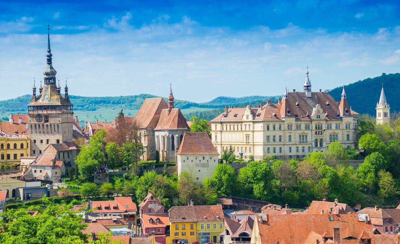 Sighisoara, medieval town of Transylvania, Romania