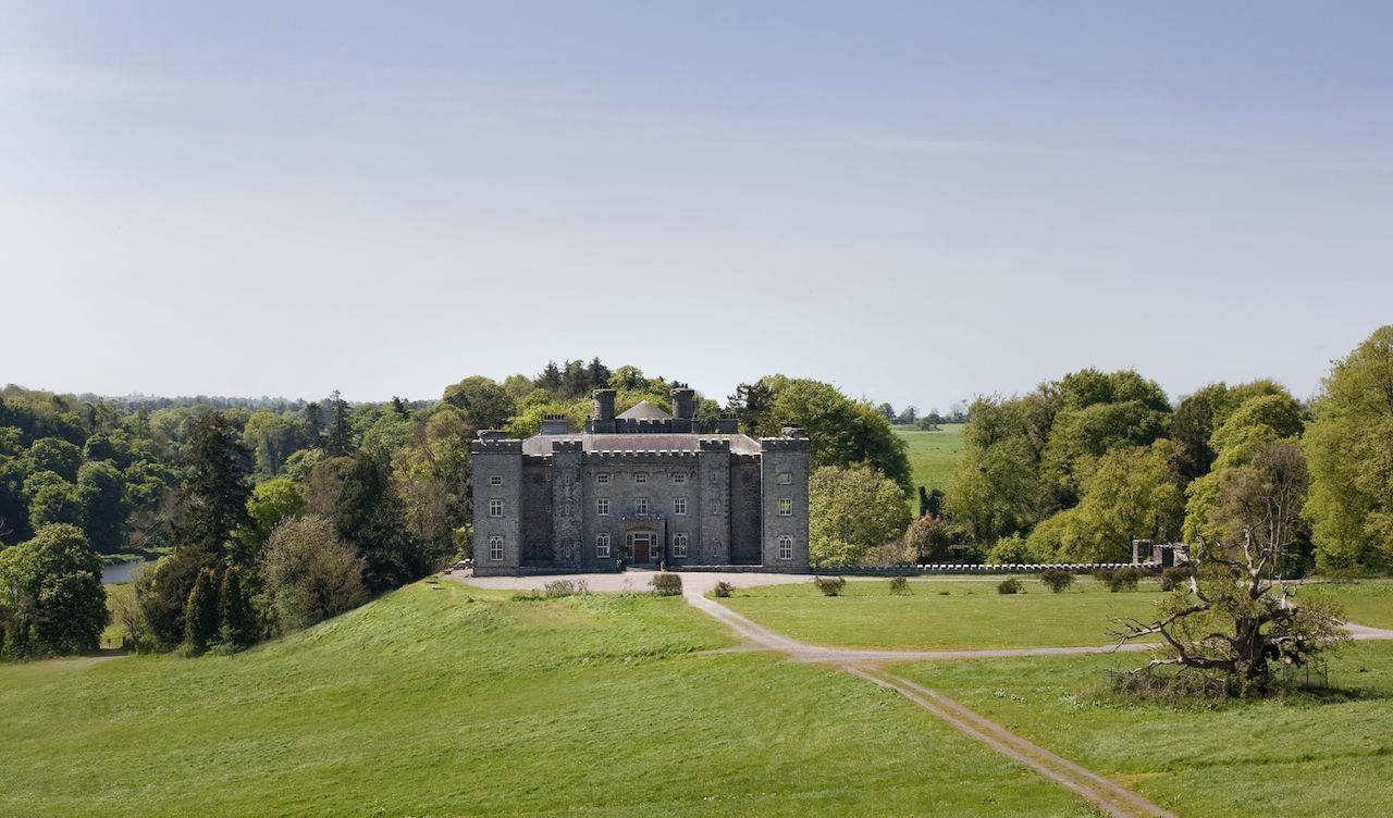 Slane Distillery castle and grounds in Ireland