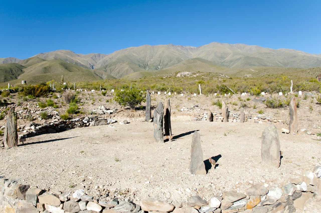 South Africa's Adam's Calendar Stone Replica - Argentina