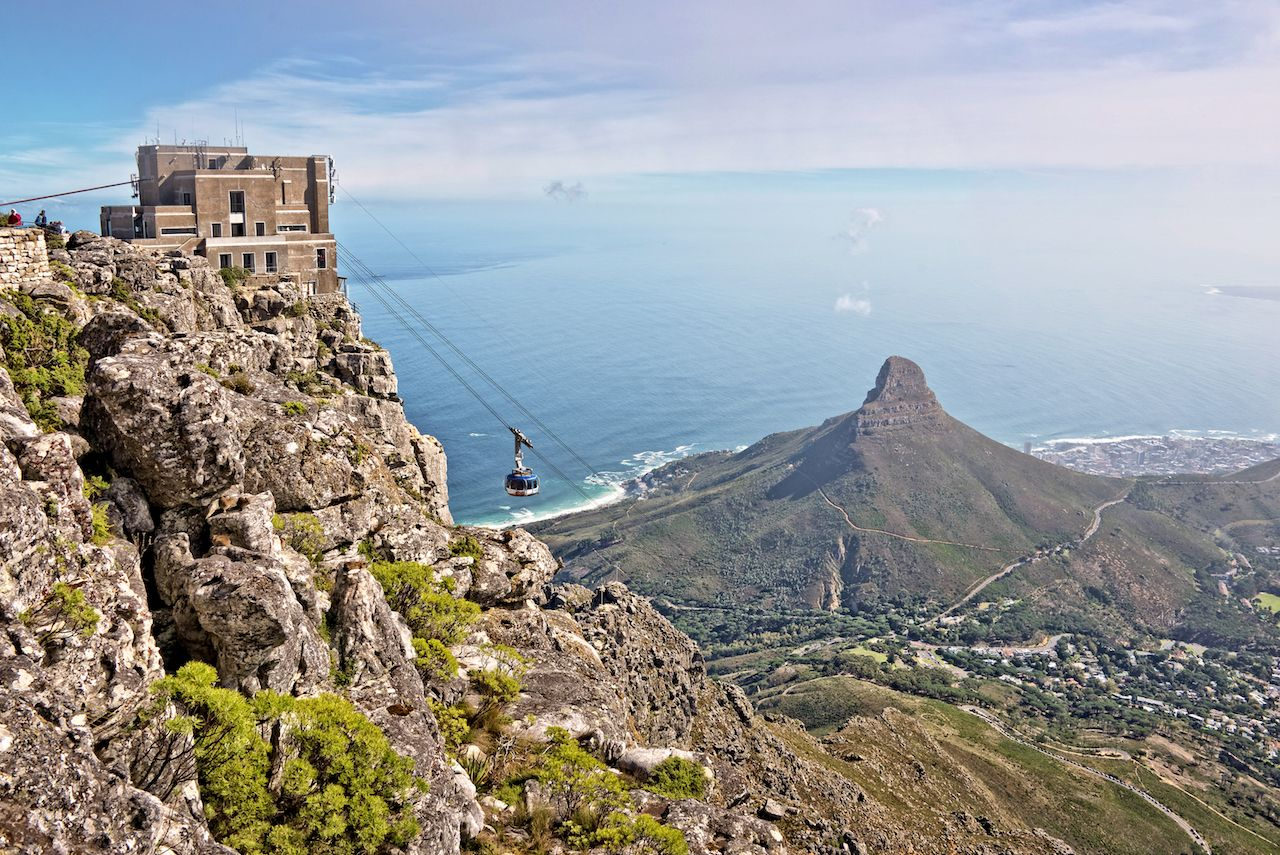 Table Mountain Aerial Cableway in Cape Town, South Africa
