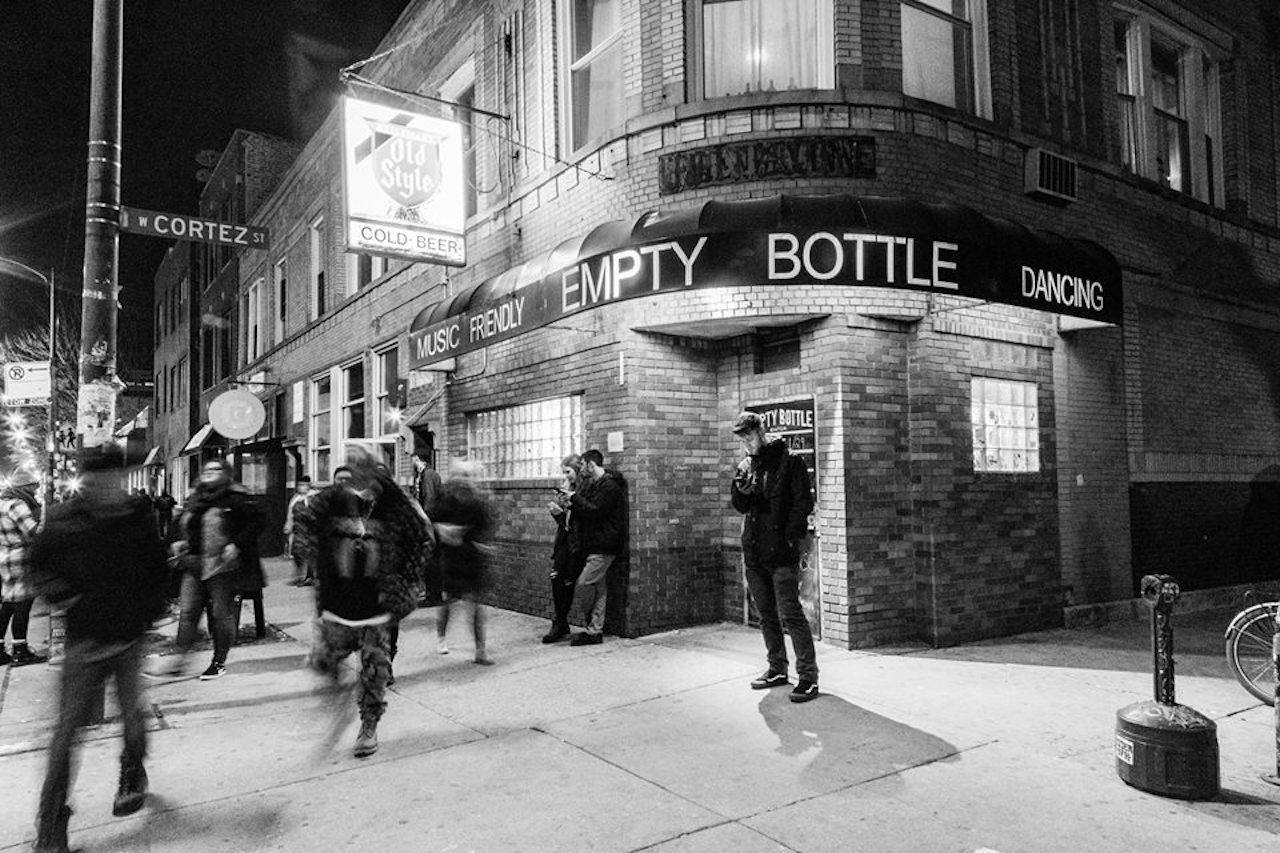 The Empty Bottle music venue in Chicago