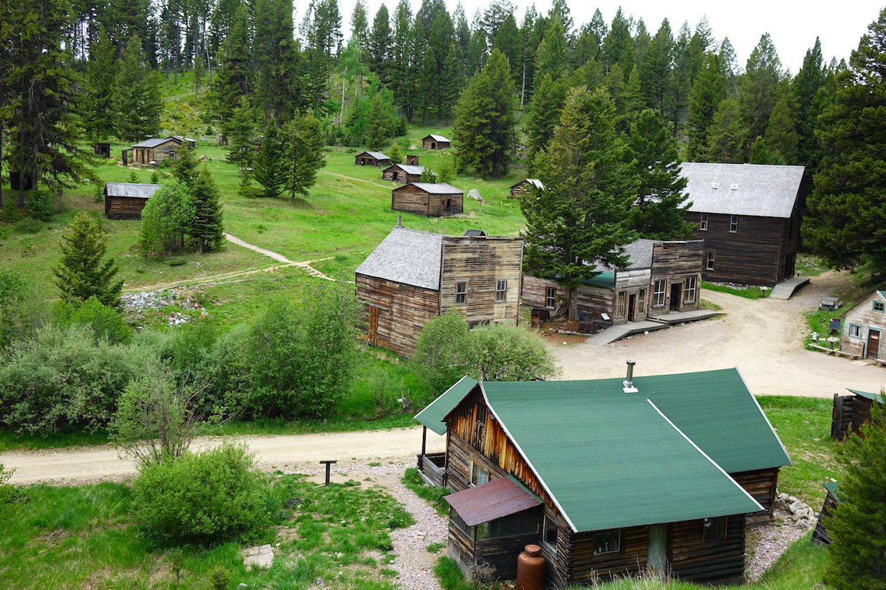 The Garnet ghost town in Montana