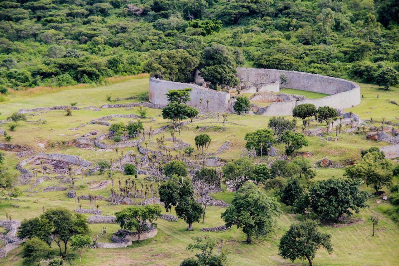 The Great Zimbabwe Ruins near Masvingo in Zimbabwe