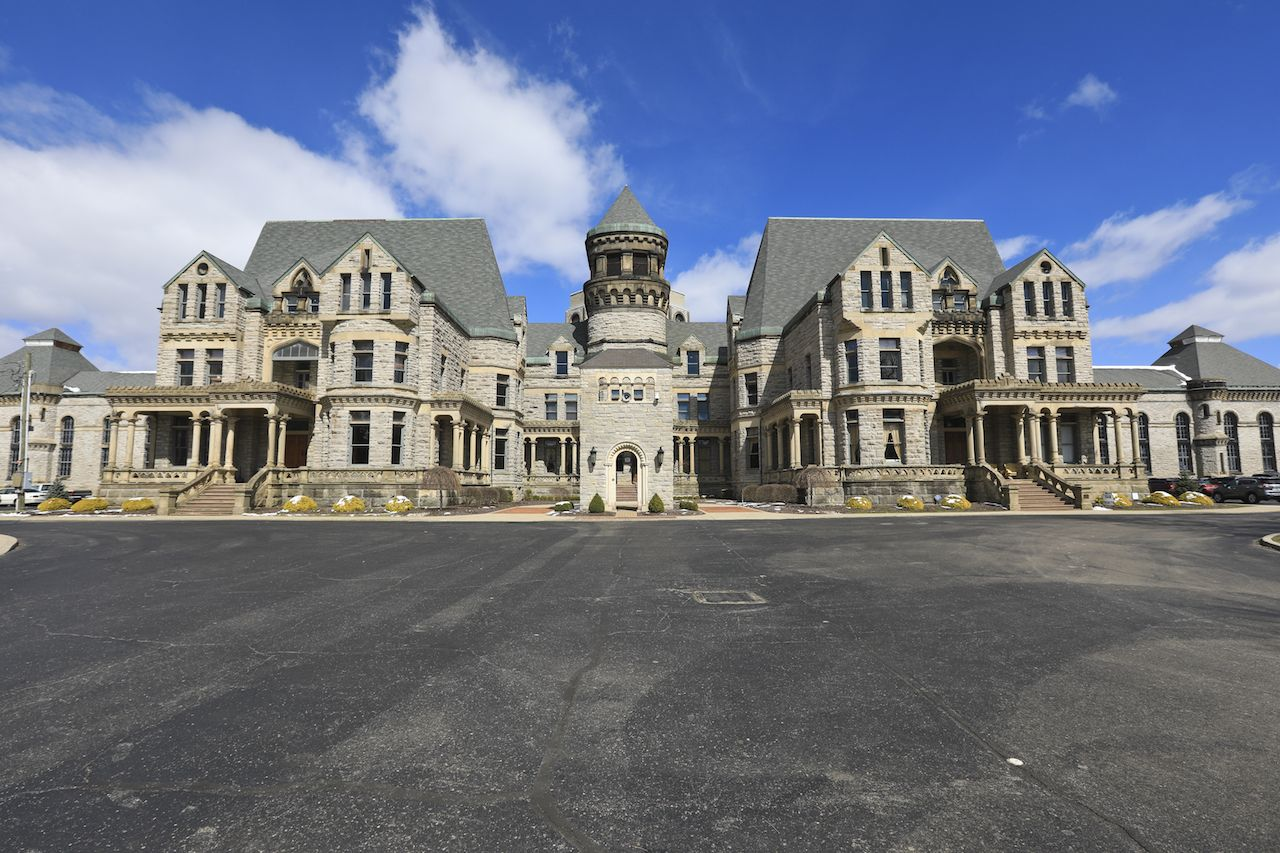 The Ohio State Reformatory in Mansfield, Ohio
