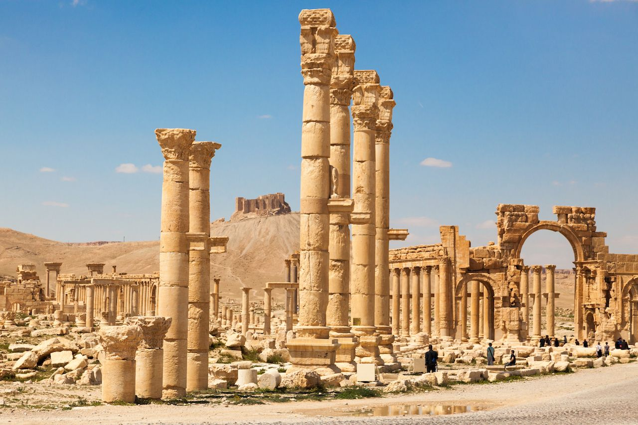 Palmyra to reopen in summer 2019