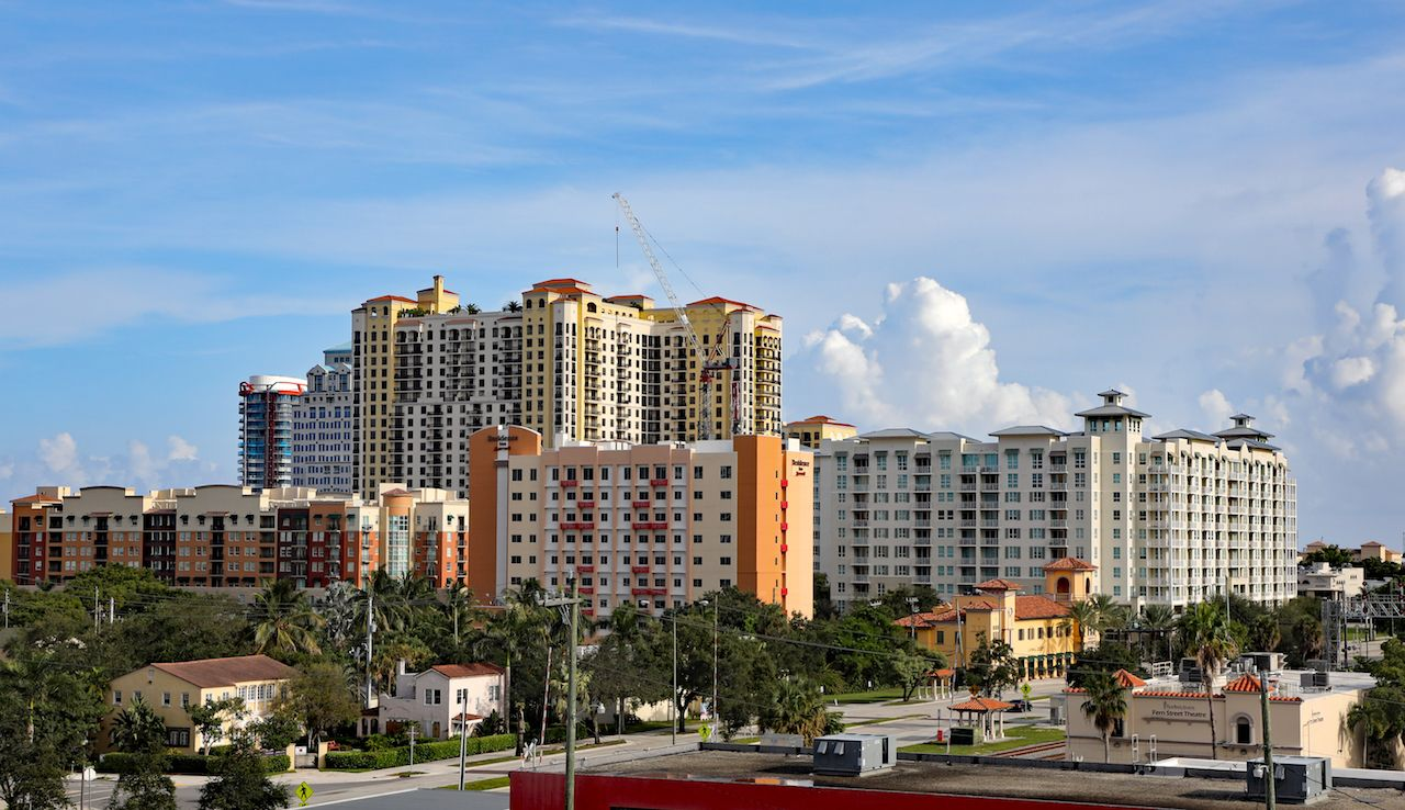 West Palm Beach, Florida, skyline