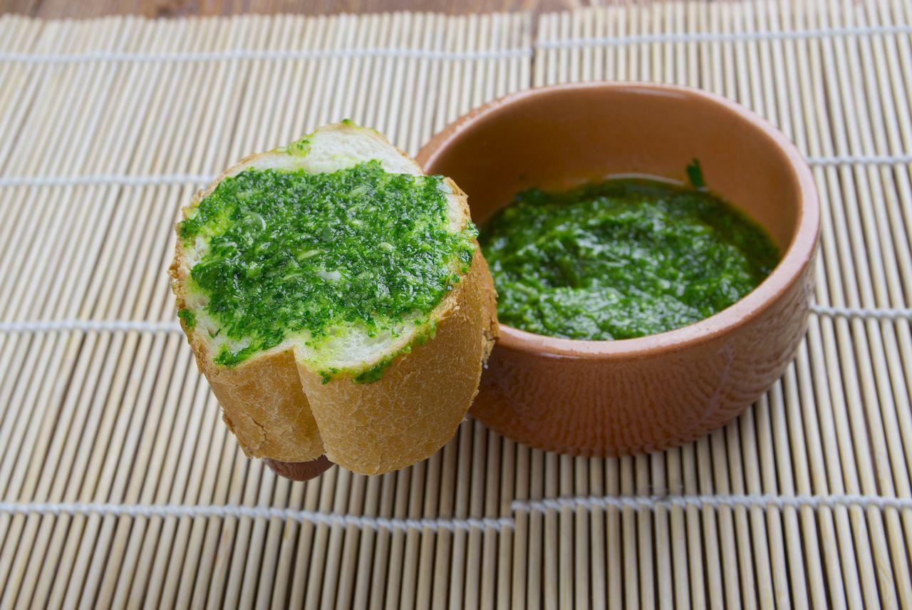 Yemenite sauce zhug