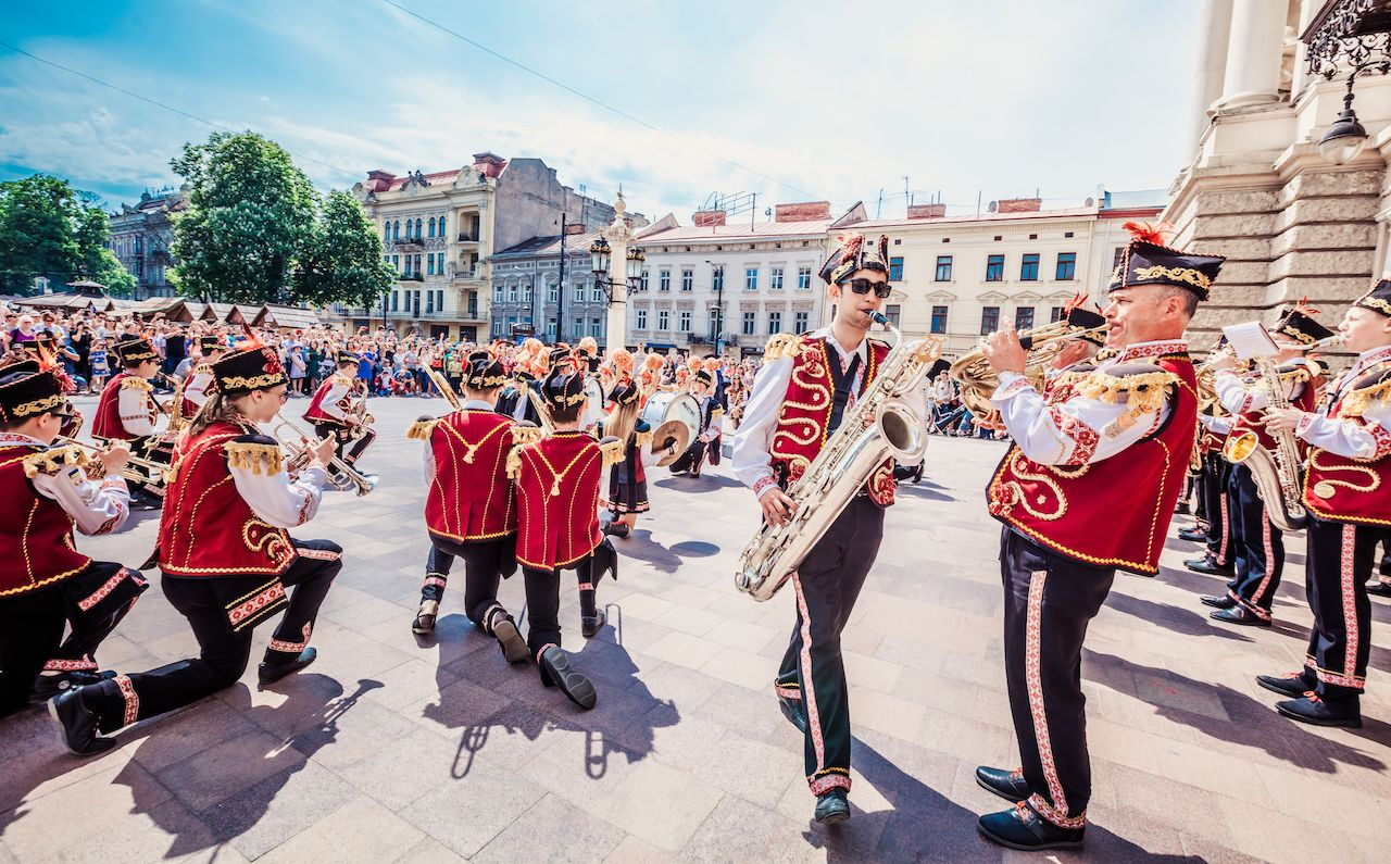 Celebration of Lviv City Day 2018 in Ukraine