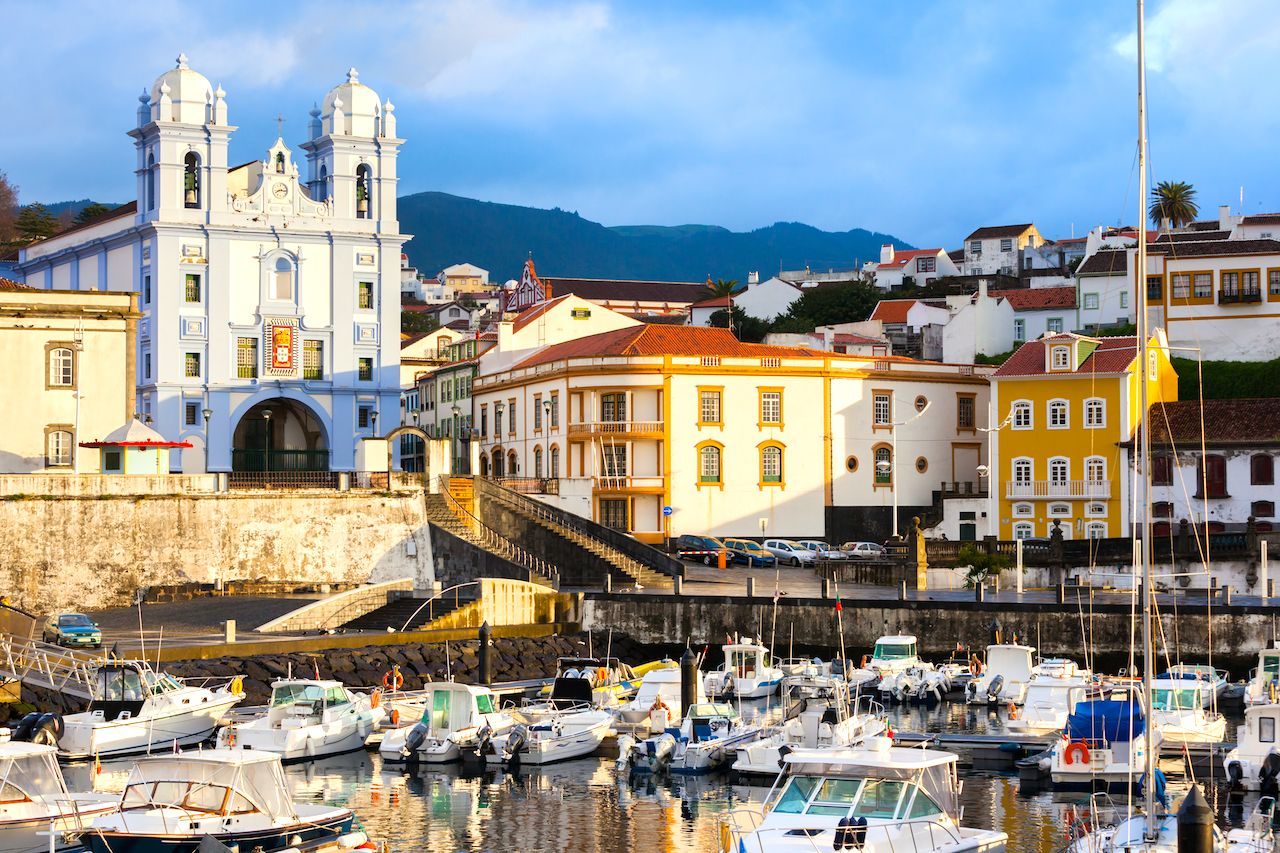 the city Angra do Heroismo