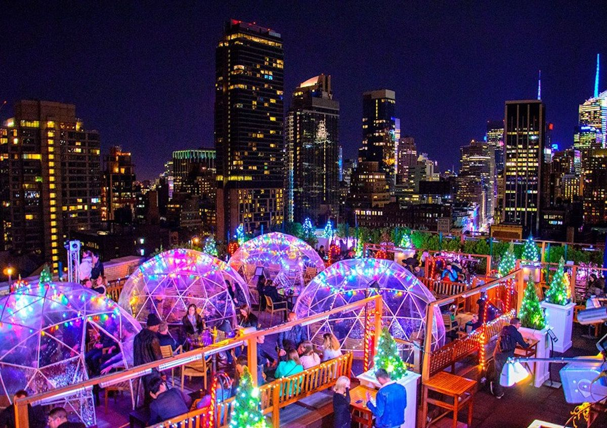 Best enclosed rooftop bars in New York City for winter